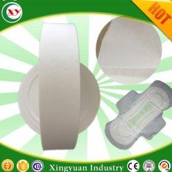 Materia prima del tovagliolo sanitario di Airlaid del tessuto bagnato di carta della materia prima
