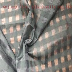 Comprobación de algodón de seda tejido, teñido de hilados de algodón tejido de seda verificar