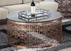 Современные кофейный столик с закаленным стеклом верхней части