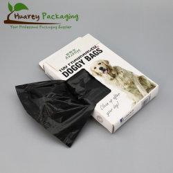 L'abitudine calda di vendita 100%Biodegradable ha stampato il cane residuo del sacchetto di immondizia dell'animale domestico del cane con l'erogatore