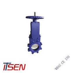 DIN и ANSI/JIS стандартных полупроводниковых пластин/выступ/Тип запорный клапан ножа для PN10/16 класса125