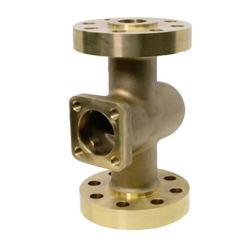 Densen Fundición personalizados productos de fundición de precisión de acero inoxidable DN40 el cuerpo de válvula