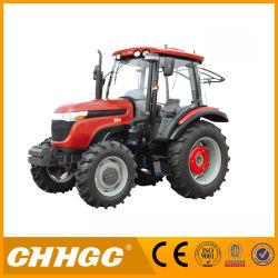 農業トラクター大きい力100HP 4X2の車輪駆動機構の農場の手段