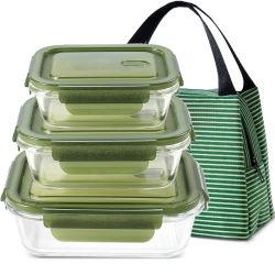 La prova chiusa ermeticamente BPA della perdita libera il contenitore di memoria di vetro dell'alimento