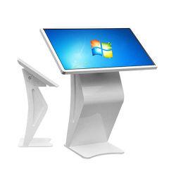 """熱いLCD表示、タブレットパソコン32-65の""""インチ、対話型の床の立場の壁の台紙LCDのタッチ画面"""