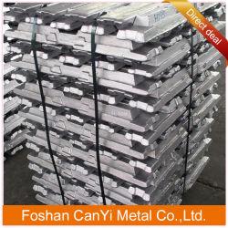 Meilleure qualité de l'aluminium pur Al lingot en alliage de 99,7 %