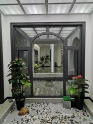 La serie termine Soncap 60/70 Mill inteligente ventanas corredizas de aluminio