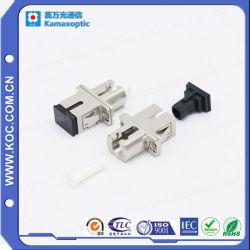 Adaptador de fibra óptica de híbridos de metal