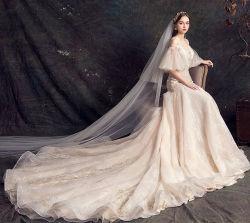 Manchon de châle robes de mariée robe de mariage de la Dentelle de perlage W1943