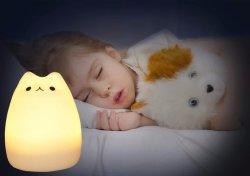 Сотрудников категории специалистов на заводе предоставления красочный Детский ночник с экологически безвредные Силиконовый корпус для сна