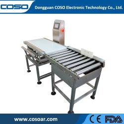 Le COSO le poids du colis de nourriture à haute vitesse Contrôle de l'échelle de la machine Machine de pesage à fonctionnement automatique Checkweigher Vérifier peseur