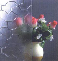 [4مّ] برونزيّ [كرتش] أسلوب/يزيّن زجاج/رقم زجاج