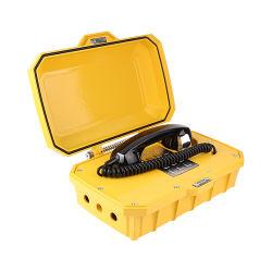 Telefono impermeabile con l'altoparlante impermeabile di servizio del meccanismo del registratore 8GB dello stampo esplosivo legato di chiamata