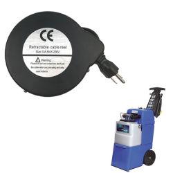 Tambour de flexible à ressort enrouleurs de câble de rallonge d'alimentation des bobines