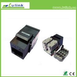 Черный кабель UTP CAT5e, разъем RJ45 коррекция трапецеидальных искажений