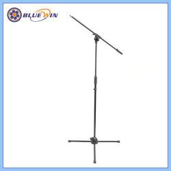 Professional lança telescópica suporte do microfone tripé flexível suporte do microfone