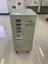 Servomotore trifase AVR da 80 KVA per apparecchiature per la lavorazione della fusione automatico ad alta precisione Regolatore di tensione CA/stabilizzatore SVC