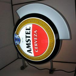Custom approuvé ce voyant LED de l'acrylique double face de la barre de bière signer