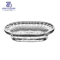 Glasware-Fabrik-preiswertes Großhandelsbadezimmer-Glasseifen-Teller (GB39034)