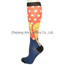 calzini graduati di compressione stampati 3D per gli uomini & le donne - calzino di ripristino e di circolazione