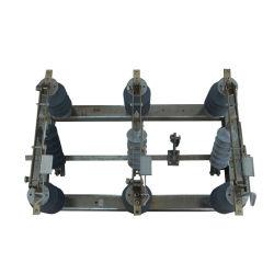 H. V. al aire libre Combinación de ruptura de carga de aislante eléctrico/interruptor de desconexión de tres fases Seccionador de alta tensión