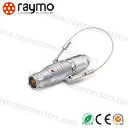 China proveedor compatible de alta calidad Lemos Fng Circular Metal empujar tirar el auto de 6 polos conector del enclavamiento