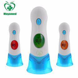 Наиболее популярные трехцветный подсветка электронной цифровой термометр для человеческого тела инфракрасный термометр лба ушной термометр