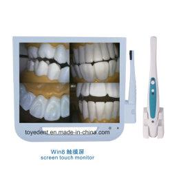 Schermo di video di tocco del sensore del calcolatore del sistema della finestra 7 con la macchina fotografica orale dentale del USB