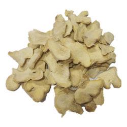 Bonne couleur odeur épicée et flocons de gingembre tranché multifonctionnelle