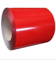 Color RAL material recubierto de fábrica de paneles sándwich de bobinas de acero galvanizado Prepainted mayorista PPGI