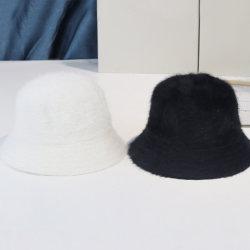 ジョーカーの表面ショーの小さいウサギの毛の帽子の秋の冬の山高帽子のウールの帽子のカスタマイズ可能なロゴの漁師の帽子の韓国語バージョン