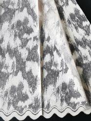 Gordijn van het Ontwerp van de Jacquard van de Stof van de Polyester van 100% het Breiende