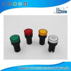 Lâmpada LED indicador luminoso 22mm &sinal acústico com o tipo de capacitância para