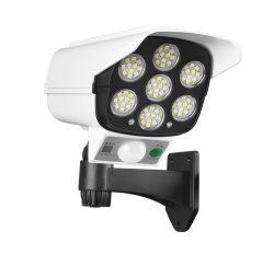 Licht 77 leiden, de Schemerigere Verlichting van Drie Blok, Licht van de Muur van Carmera Zonne van de Muur van de Sensor van de Besparing het Zonne