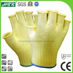 耐熱性フィンガーレスカット抵抗性ニット安全作業手袋(レベル 5 の切断)