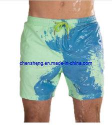 سحريّة شاطئ [شورتس] رجال [سويمّينغ ترونك] [بث سويت] تغير لون لون [شورتس]