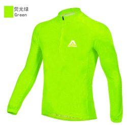 На велосипеде футболках Nikeid Quick-Drying длинной втулки износа, Sportwear пота велосипед, Bikewear (CYC-0002)