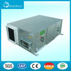 3000CMH tipo placa intercambiador de calor total de la unidad de manejo de aire fresco