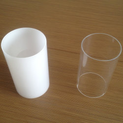 Tuyaux en plastique acrylique couleur clair/Tubes/Tubes PMMA acrylique
