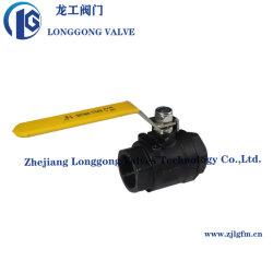 Acciaio al carbonio WCB acciaio inox 1000wog/2000wog 1PZ/2PC/3PC filettato/saldatura di testa/presa/sfera flangiata Valvola SS304/SS316 con bloccaggio completo della porta