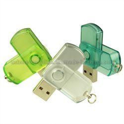 Прозрачный оборотного стиле Mini USB флеш-диск 1 ГБ (SW-002)