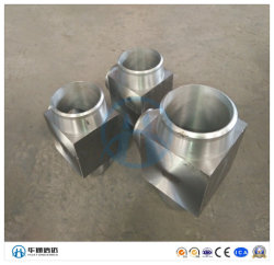 Douille de raccords de tuyauterie à souder en acier inoxydable avec la norme ASTM A182