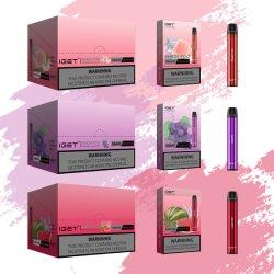 Commerce de gros Iget nouvelle arrivée E Cigeratte Iget Shion Vape 600jetables jetables de bouffée de cigarette électronique