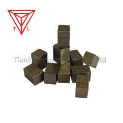 광업 다이아몬드 절단 디스크는 대리석 화강암 석회석 바위 콘크리트를 위해 톱날 PCD 공구 세그먼트를