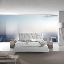 심플한 디자인 패브릭 침대, 모던 침대 룸 세트 홈 가구
