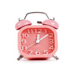 Производство питания мини-красочных домашнего использования Deli 9035 Таблица будильник с ночной свет