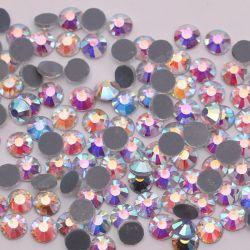 Дешевые исправление DMC камня стеклянные бусины Crystal Hotfix Rhinestone теплового нажмите Mc