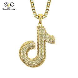 La joyería de moda Hombre Hip Hop J de diamantes colgante de joyería popular norteamericana