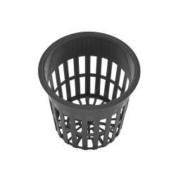 """Сельское хозяйство Пластиковый черный цветок 2"""" Net емкостей для гидропоники Aquaponics"""