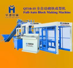 Многофункциональный гидравлический автоматический бетонное машины (QT10-15)
